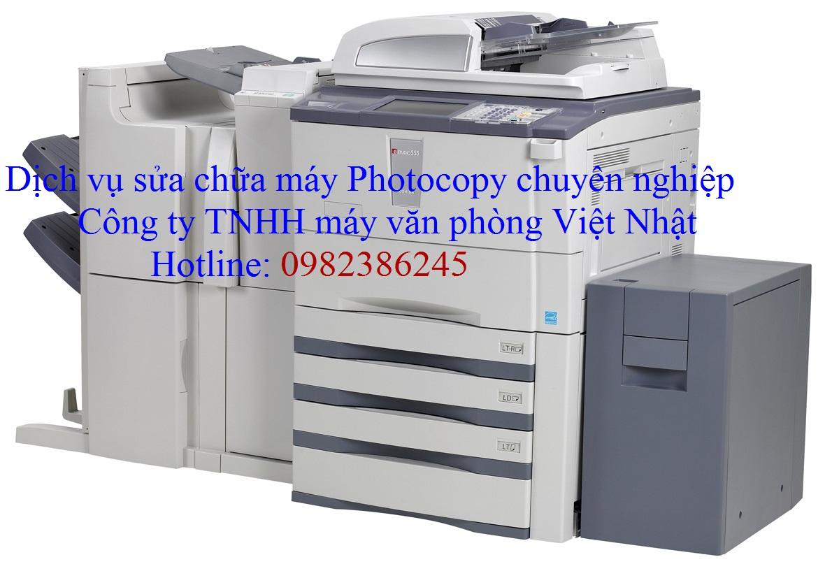 Dịch Vụ Sửa Chữa Máy Photocopy Nhanh - Uy Tín - Chất Lượng Tại Nhà