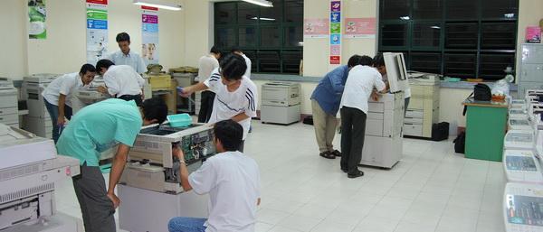 bảo trì máy photocopy